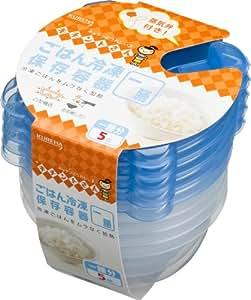 ごはん冷凍保存容器一膳分5個250ml