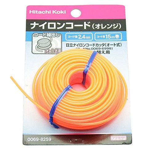 ナイロンコード/2.4×15M(オレンジ)