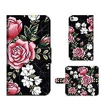 iPhone 6s Plus 6 Plus 手帳ミラータイプ ローズ ROSE 花柄 薔薇 フラワー 手帳型 スマホケース 携帯カバー スマホカバー techou-190334 [FFANY]