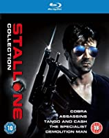Stallone Blu-ray Collection (Cobra / Assassins / Tango and Cash / The Specialist / Demolition Man)