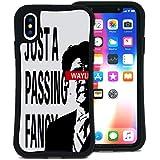 WAYLLY(ウェイリー) iPhone X ケース iPhone XS ケース アイフォンXケース アイフォンXSケース くっつくケース 着せ替え 耐衝撃 米軍MIL規格 [ストリート JPF] MK