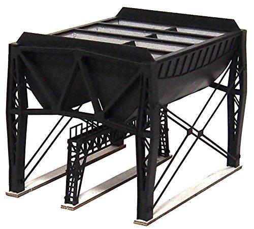 アドバンス Nゲージ 1005 新式複線形給炭槽 (ペーパーストラクチャー キット)