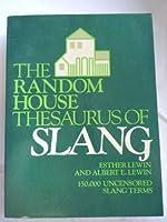 RH THESAURUS OF SLANG