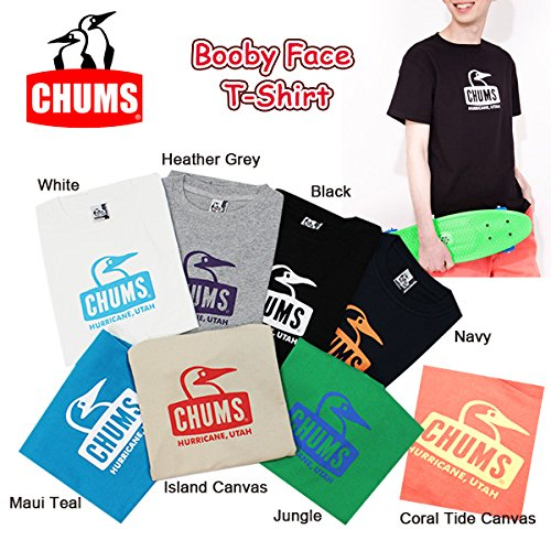 チャムス ブービーフェイスTシャツ