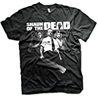 Officially Licensed Shaun of the Dead Mens T-Shirt (Black)