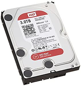 Western Digital HDD 内蔵ハードディスク 3.5インチ 3TB WD Red NAS用 WD30EFRX 5400rpm 3年保証