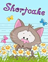 """Shortcake: Primary Writing Tablet for Kids Learning to Write, Personalized Book with Child's Name for Girls and Boys, 65 Sheets of Practice Paper, 1"""" Ruling, Preschool, Kindergarten, 1st Grade, 8 1/2"""" x 11"""""""