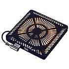【タイムセール】メトロ こたつ用取替えヒーター U字型ハロゲンヒーター 手元温度コントロール式 MHU-601E(K)が激安特価!