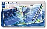 ステッドラー 色鉛筆 カラトアクェレル 水彩色鉛筆 48色 125 M48