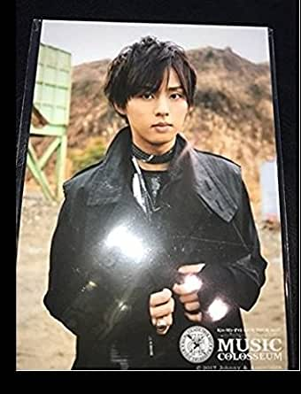 Kis-My-Ft2 LIVE TOUR 2017 MUSIC COLOSSEUM 公式グッズ 藤ヶ谷太輔 オリジナルフォトセット