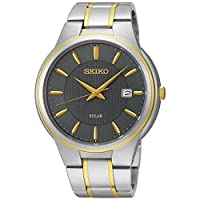[セイコー]Seiko Watches 腕時計 Seiko TwoTone Color Bracelet Band Grey Dial Watch SNE404 [並行輸入品]