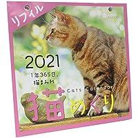 シーオーツー 猫めくり 2021年 カレンダー リフィル 日めくり CK-C21-02