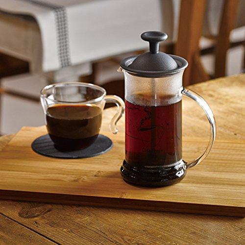 HARIO (ハリオ) カフェプレス スリムS コーヒー & ティー プレス 1~2杯用 ブラック CPSS-2TB