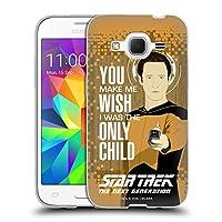 オフィシャルStar Trek Only Child Data アイコニック・フレーズ(Tng) ソフトジェルケース Samsung Galaxy Core Prime