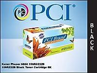 プレミアム互換機106r02228-pci PCI Xerox Phaserブラックトナーカートリッジ8K YIELD FOR 6600、6600N、6600dn