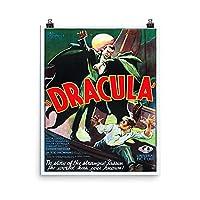 ヴィンテージポスター–Dracula–プレミアム光沢フォト用紙ポスター 16x20