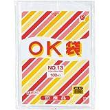 【直送品】OK袋(03) 13号 100枚入 (10t) 1袋