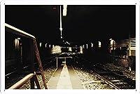 鉄道18207のティンサイン 金属看板 ポスター / Tin Sign Metal Poster of Railroad 18207