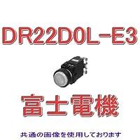 富士電機 DR22D0L-E3G 丸フレームドーム形 (標準) 表示灯 (LED) AC/DC24V (緑) NN