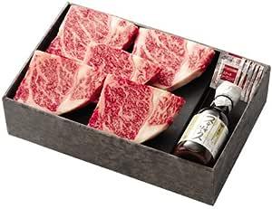 肉の万世 黒毛和牛霜降ステーキセット (150g×4枚)