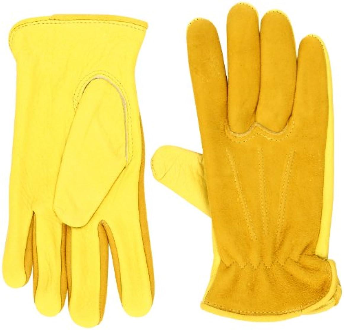 雄大な縁悔い改めJustin(ジャスティン) Deer Backskin Glove 21102 S(USサイズ)