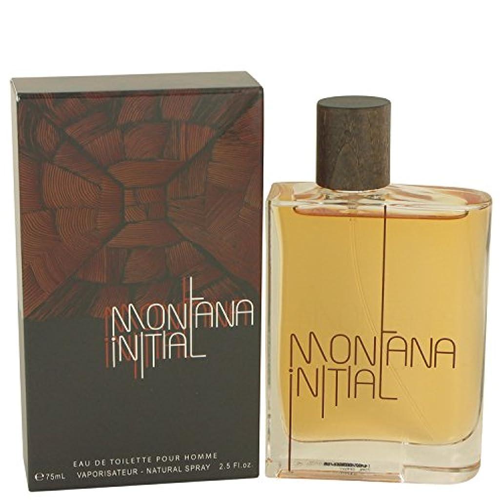 バックグラウンドスナップ対称Montana Initial by Montana Eau De Toilette Spray 2.5 oz