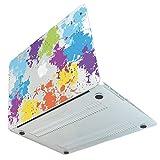 MS factory MacBook Air 13 Air13 ケース カバー マックブック エア 13.3 インチ ハードケース デザイン Mid 2017 対応 RMC series クリスタル ペイント 柄 ペンキ 絵の具 スプラッシュ マウンテン MBA13X-SPLA-mou