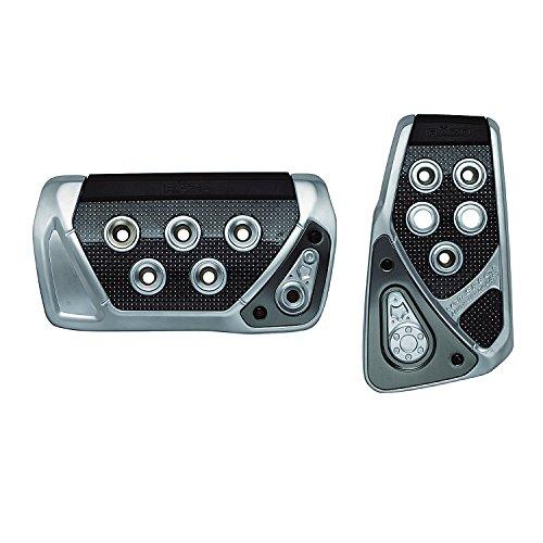 カーメイト 車用 ペダルセット RAZO GTスペック AT-S カーボン シルバー 適合:トヨタ プリウス30系 ホンダ nbox 他 RP101