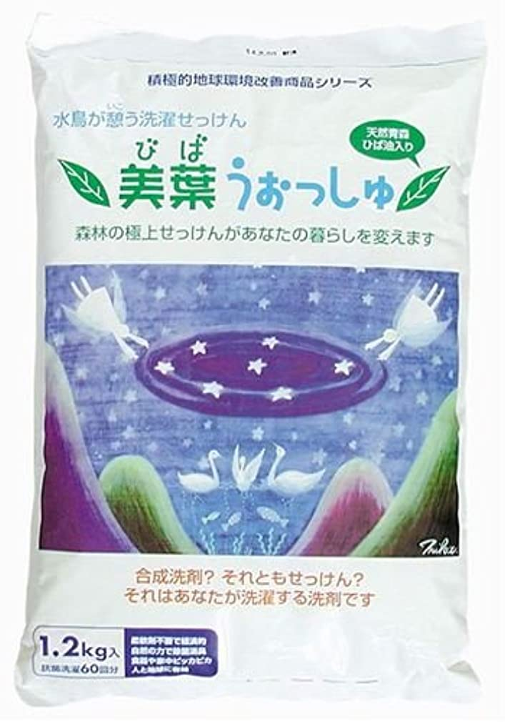 ほのめかす迅速アブストラクト美葉うぉっしゅ(粉せっけん) 1.2kg
