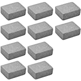 TOOGOO Grill Griddle Cleaning Brick Block Ecological Odorless Cleaning Stone De-Scaling Grill Stone Cleaner Removes Rust Grease(Pack of 10)