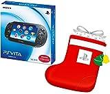 PlayStation Vita 3G/Wi-Fiモデル クリスタル・ブラック 限定版 (PCH-1100AB01) +デカくつした