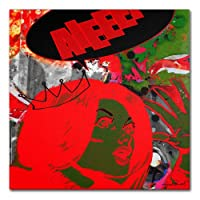 Trademark Fine Art Drama Queen キャンバスウォールアート ミゲル・パレデス 24 by 24-Inch MP0053-C2424GG