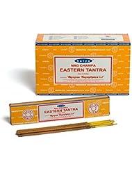 Buycrafty Satya Champa Eastern Tantra Incense Stick,180 Grams Box (15g x 12 Boxes)