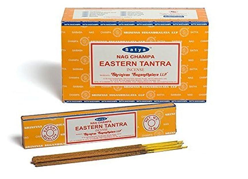 リングレット建築振りかけるBuycrafty Satya Champa Eastern Tantra Incense Stick,180 Grams Box (15g x 12 Boxes)