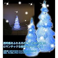 【タカショー2in1専用】イルミネーション 3Dクリスタルモチーフ ツリー S ブルー [LIT-3D05L]