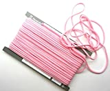 【手芸】カラーロープ(ひも)(中)ピンク(03)(★1mで54円です。10cm単位ではありません)