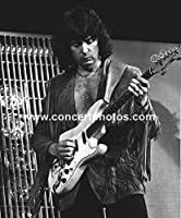 Deep_Purple Richie_Blackmore 20.32cmx25.4cm BWフォト