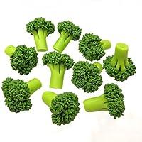 20 pcsドールハウスミニチュアフード野菜ブロッコリー