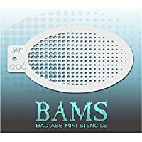 Bad Ass グラデーションミニステンシルBAM1206