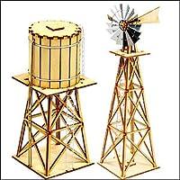 Young Modeler HO Serises, 木製モデルキット_西風風車セット(YM628) [並行輸入品]