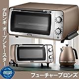デロンギ ディスティンタコレクション オーブン&トースター [ フューチャーブロンズ / EOI406J ]
