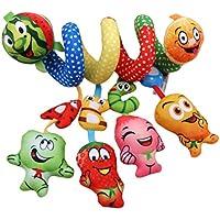LalangベビースターアクティビティおもちゃCrib PramおもちゃベビーカーRall Hanging Letters Plush Soft Toy