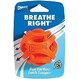 Chuckit! 31932 Breathe Right Fetch Ball Medium - 1 Pack, Orange