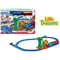 Dinosaur series electric train toy with light sound and tracks - ride the steam engines mining path stop by the crane and get loaded up for your journey - great gift set for boys and girls [並行輸入品]