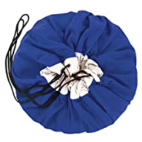 PLAY&GO [プレイアンドゴー] Play and Go 2 In 1 Toy Bag and Play Blanket In Cobalt Blue