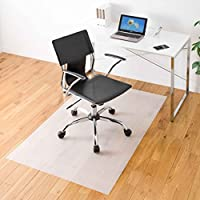 サンワダイレクト チェアマット 幅90×奥行150cm 畳 フローリング 対応 EVA樹脂 日本製 好きな形にカット可能 100-MAT006