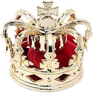 王冠 髪飾り ゴスロリ コスプレ 初音ミク (1個, フリー)