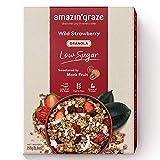 Amazin' GrazeLow Sugar Wild Strawberry Granola, Wild Strawberry, 250g