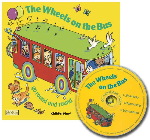 The Wheels on the Bus go Round and Round (Classic Books with Holes Giant Board Book)の詳細を見る