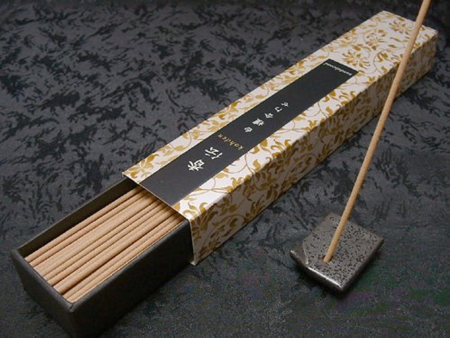 ジョガーアンドリューハリディ膜日本香堂のお香 香伝 白檀合わせ